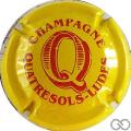 Champagne capsule 21.b Jaune