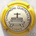 Champagne capsule 4 Contour jaune