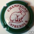 Champagne capsule 25.a Contour vert
