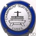 Champagne capsule 9 Contour bleu