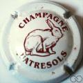Champagne capsule 25.c Blanc