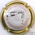 Champagne capsule 20.e Contour or