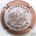 Champagne capsule 24.c Contour rosé