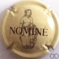 Champagne capsule 1 Crème, dessin foncé