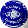 Champagne capsule 9.a Bleu et blanc