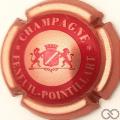 Champagne capsule 9.b Rosé pâle et bordeaux
