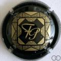Champagne capsule A1.a Noir et or