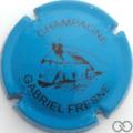Champagne capsule 7 Bleu et noir