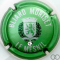 Champagne capsule 15.i Vert métallisé lettres argent avec strass