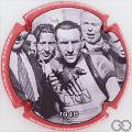 Champagne capsule A7.e Portrait 1948, contour rouge