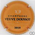 Champagne capsule  Jaune-orange et noir