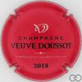 Champagne capsule  Rouge et noir