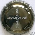 Champagne capsule 1 Nickel et blanc