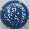 Champagne capsule 06 Bleu et blanc