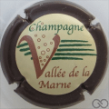 Champagne capsule 15 Contour marron