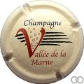 Champagne capsule 32 Fond crème, petit dessin