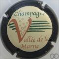 Champagne capsule 18 Contour noir