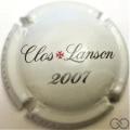 Champagne capsule 123.a Clos Lanson 2007