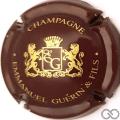 Champagne capsule 5 Marron et or (et Fils)