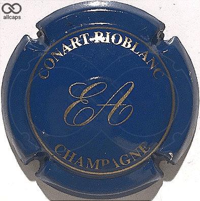 14. bleu et or Capsule de champagne CONART-RIOBLANC
