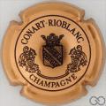 Capsule de champagne CONART-RIOBLANC 4. cuivre et noir