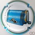 Champagne capsule 65 Contour bleu