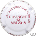 Champagne capsule  Blanc et rouge