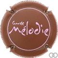Champagne capsule 13.d Mélodie, sans strass