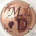 Champagne capsule 5 Rosé et marron