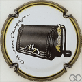 Champagne capsule 65.c Contour noir