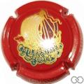 Champagne capsule 3.ba Millésime 2004, rouge