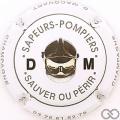 Champagne capsule H9901.q Blanc, casque de face