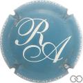 Champagne capsule 28.b Bleu et blanc