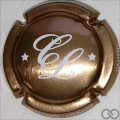 Champagne capsule  Or et blanc