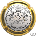 Champagne capsule 4 Contour or