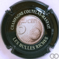Champagne capsule 1.e 5 centimes d'Euros