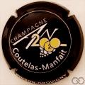 Champagne capsule 1112.a An 2020, noir