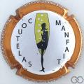 Champagne capsule 9.c Contour cuivre