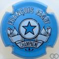Champagne capsule 10 Bleu clair