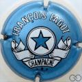 Champagne capsule 14 Bleu pâle métallisé
