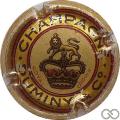 Champagne capsule 5 Polychrome, sans encoche