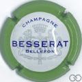 Champagne capsule 31 Contour vert pâle, 32 mm
