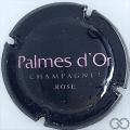 Champagne capsule 35 Rosé, lettres roses pâles