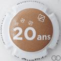 Champagne capsule A7 Contour blanc