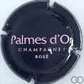 Champagne capsule 36 Rosé, lettres roses