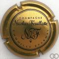 Champagne capsule 30.c Or-bronze et noir
