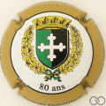 Champagne capsule 22 80 ans Amicale Philatélique
