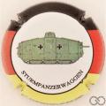 Champagne capsule 6 Sturmpanzerwaggen
