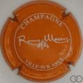 Champagne capsule 13.a Orange foncé et blanc