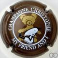 Champagne capsule 12 Marron